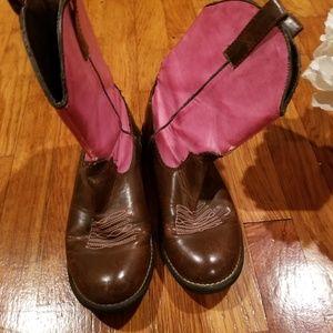 Roper Girls Light Up Boots